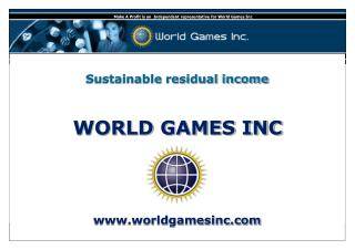 WORLD GAMES INC