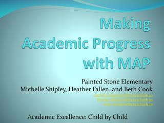 Making  Academic Progress with MAP