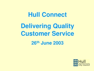 Customer Satisfaction Surveys within Service Center