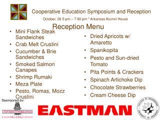 Cooperative Education Symposium and Reception