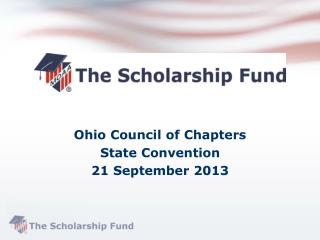 Ohio Council of Chapters  State Convention 21 September 2013