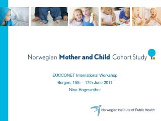 EUCCONET International Workshop Bergen, 15th � 17th June 2011 Nina Hages�ther