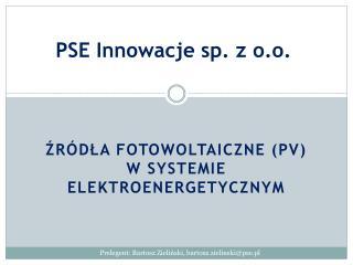 PSE Innowacje sp. z o.o.