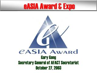 eASIA Award & Expo