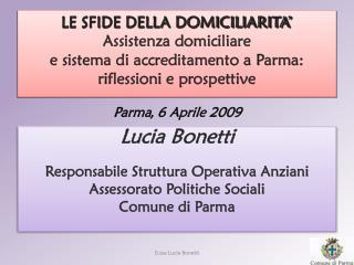 Parma ,  6 Aprile 2009