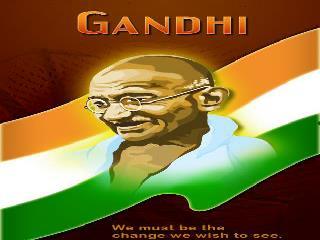 Mohandas      Karam�and Gandi�