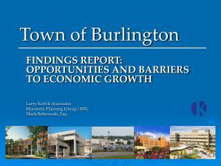 Town of Burlington