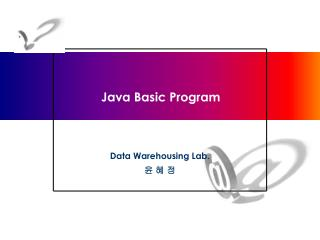 Java Basic Program