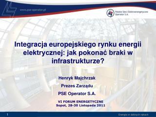Integracja europejskiego rynku energii elektrycznej: jak pokonać braki w infrastrukturze?
