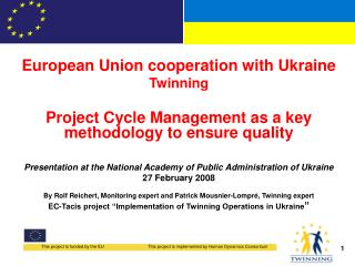 European Union cooperation with Ukraine Twinning
