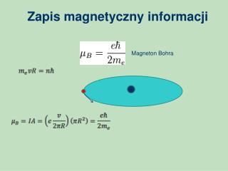 Zapis magnetyczny informacji