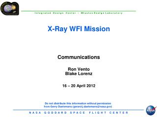 X-Ray WFI Mission