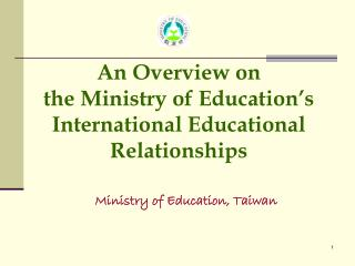 Ministry of Education, Taiwan