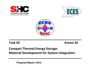 Progress-Report I 2012