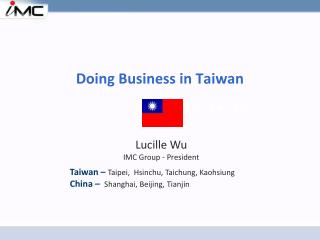 Doing Business in Taiwan