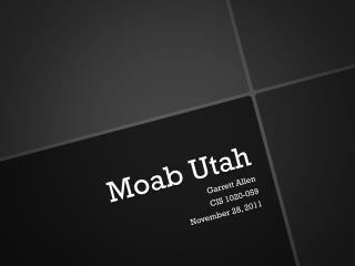 Moab Utah