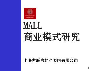 MALL  商业模式研究