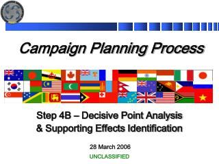 Campaign Planning Process