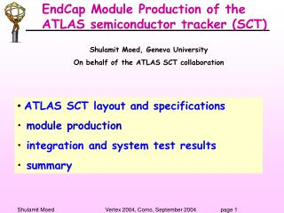 EndCap Module Production of the ATLAS semiconductor tracker (SCT)