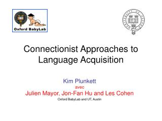 Connectionist Approaches to Language Acquisition