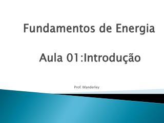 Fundamentos de Energia