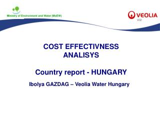 COST EFFECTIVNESS ANALISYS Country report  - HUNGARY