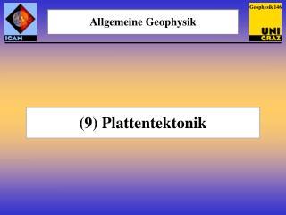 Allgemeine Geophysik