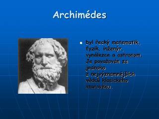 Archimédes