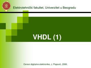 V HDL (1)