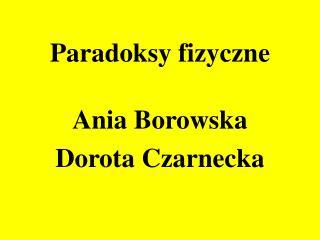 Paradoksy fizyczne