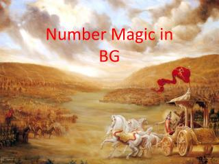 Number Magic in BG