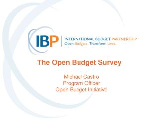 The Open Budget Survey
