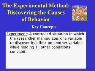 The Experimental Method: Discovering the Causes of Behavior