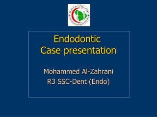Endodontic  Case presentation