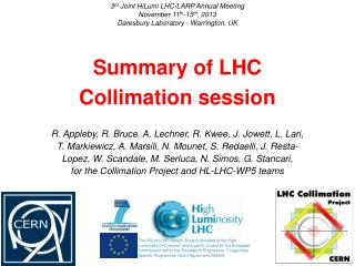 Summary of LHC Collimation session