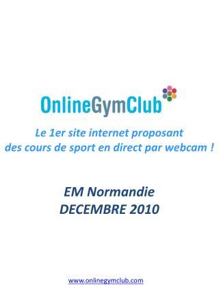 EM Normandie DECEMBRE 2010