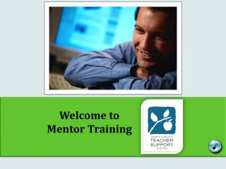 Welcome to Mentor Training