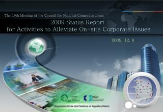 The 19th Meeting of the Council for National Competitiveness