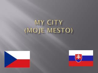 My city (Moje mesto)