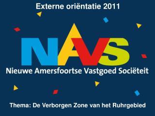 Externe ori�ntatie 2011