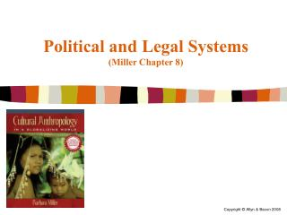 Political and Legal Systems (Miller Chapter 8)