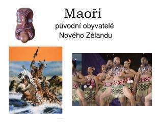 Maoři