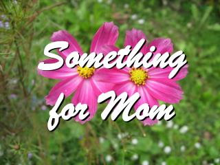 Something  for Mom