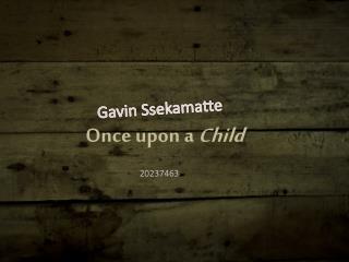 Gavin  Ssekamatte
