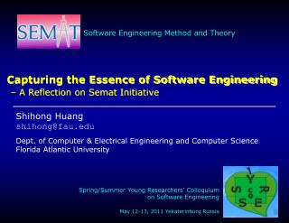 Capturing the Essence of Software Engineering – A Reflection on Semat Initiative