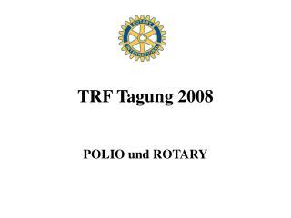 TRF Tagung 2008