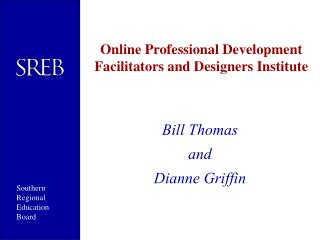 Online Professional Development Facilitators and Designers Institute