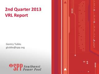2nd Quarter 2013 VRL Report