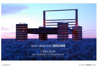 Jean-Baptiste  GEGHRE