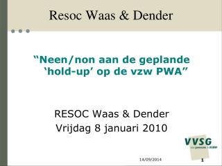 Resoc Waas & Dender